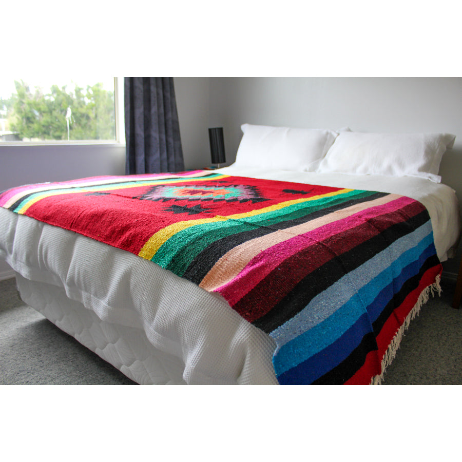 Mexican Throw - Colourful Mexican Blanket
