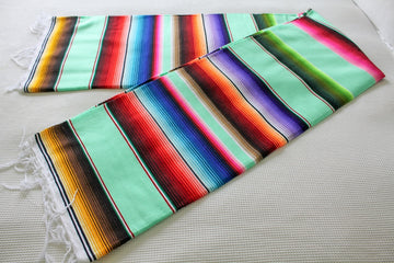 Striped Sarape Mexican Blanket NZ
