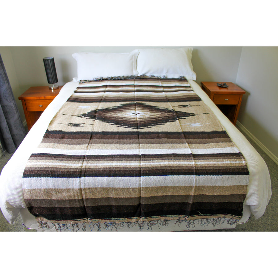 Diamond Bedspread Blanket