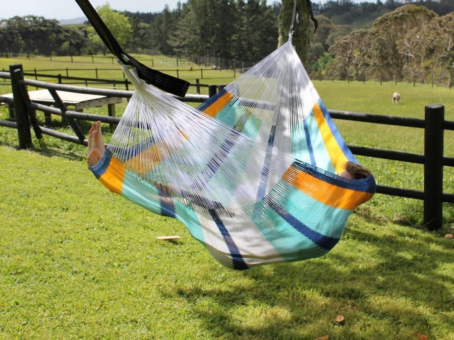Mexican Colourful Woven Hammock