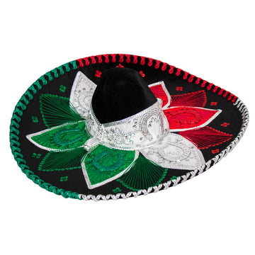 Mexican Coloured Sombrero