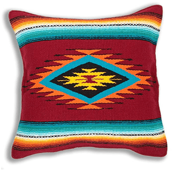 Sarape Style Cushion Cover