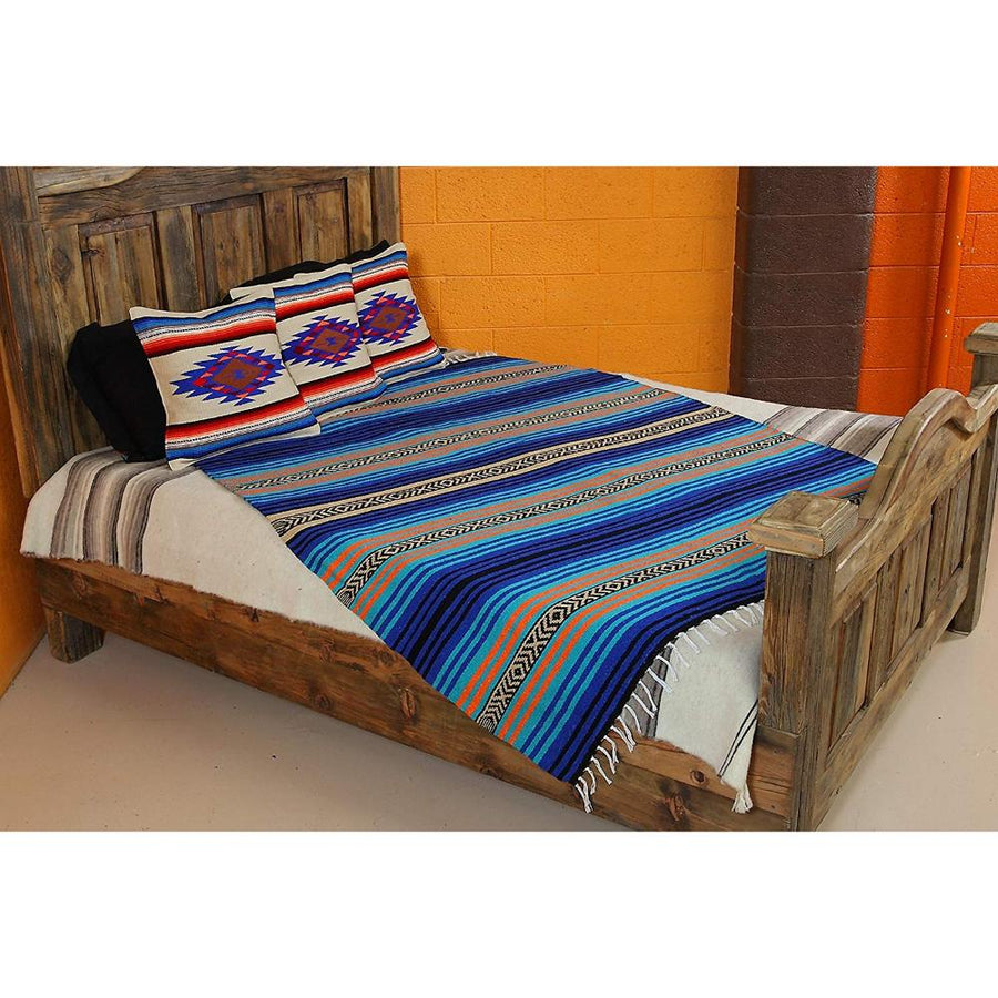 Mexican Pillow Covers - Sarape Style