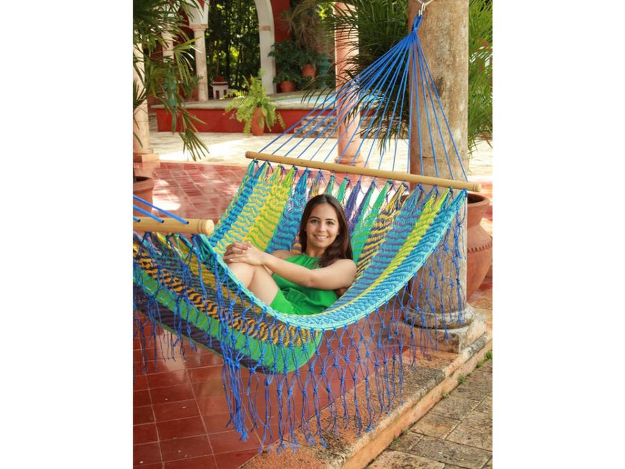Fair Trade Mexican Spreader Bar Hammock