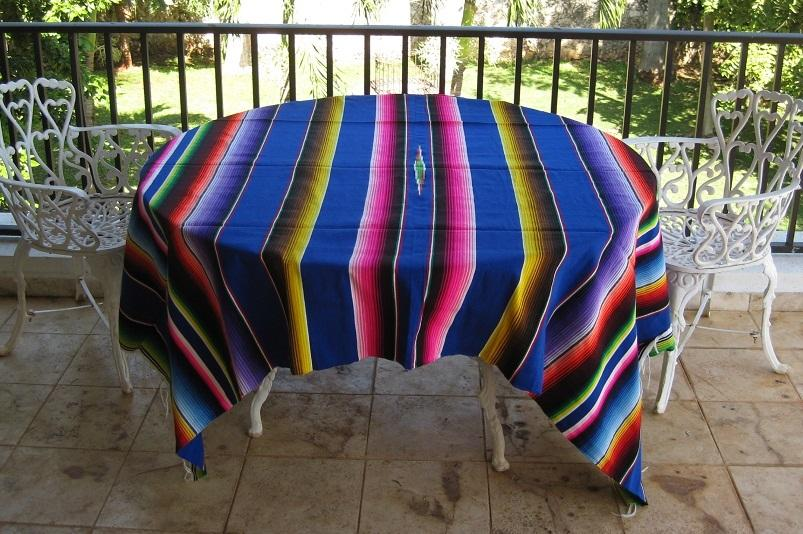 Mexican Blanket - Blue
