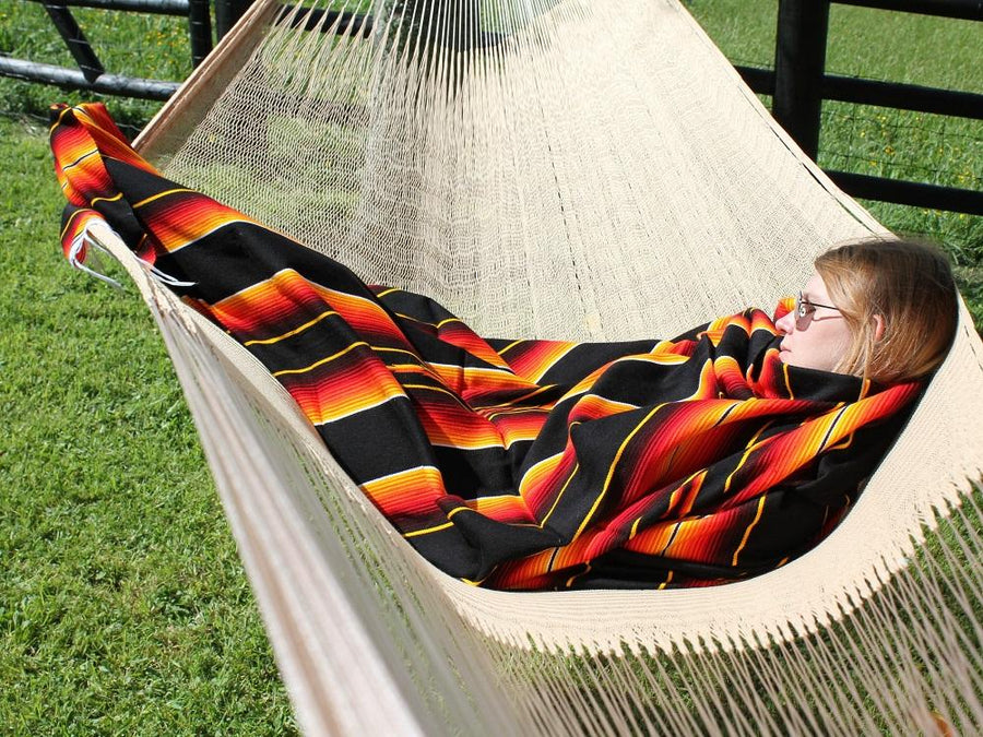 Authentic Mexican Hammock and Blanket