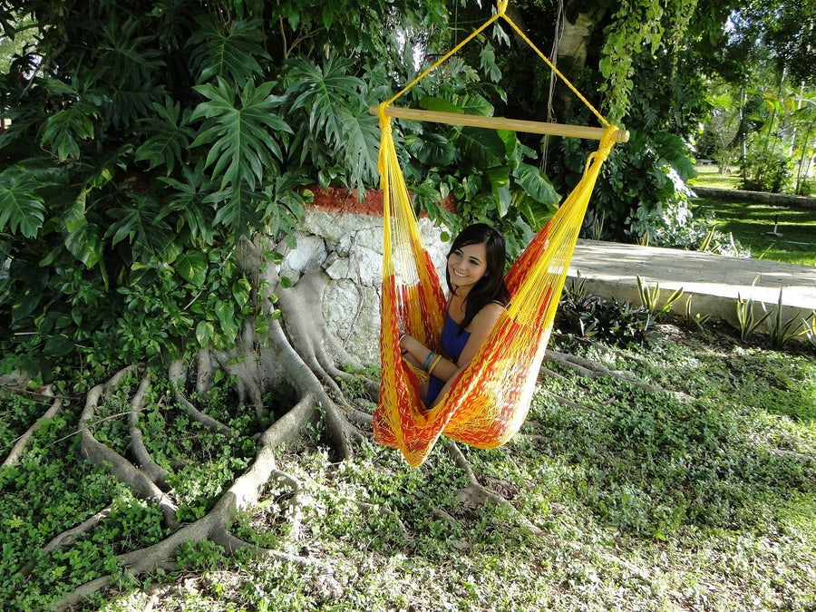 Mexican hanging hammock chair