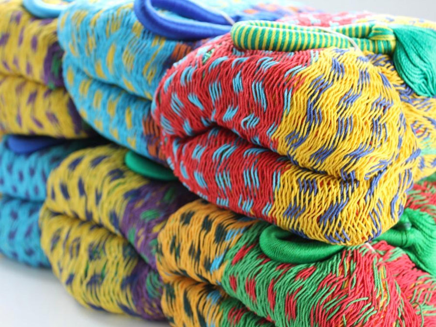 Handcrafted Colourful Mexican Hammocks