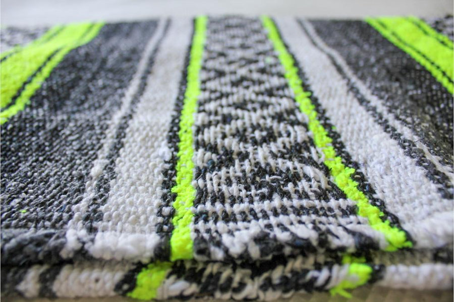 Mexican Styled Striped Blanket