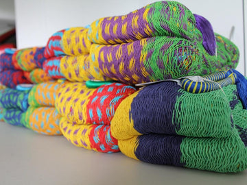 Multicolour Mexican Cotton Hammocks