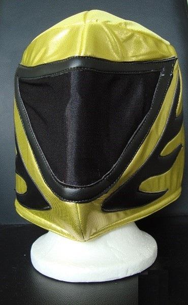 Mexican lucha libre wrestling mask