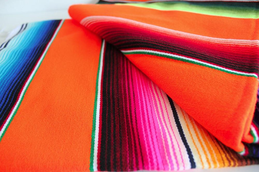 Colourful Mexican Throw