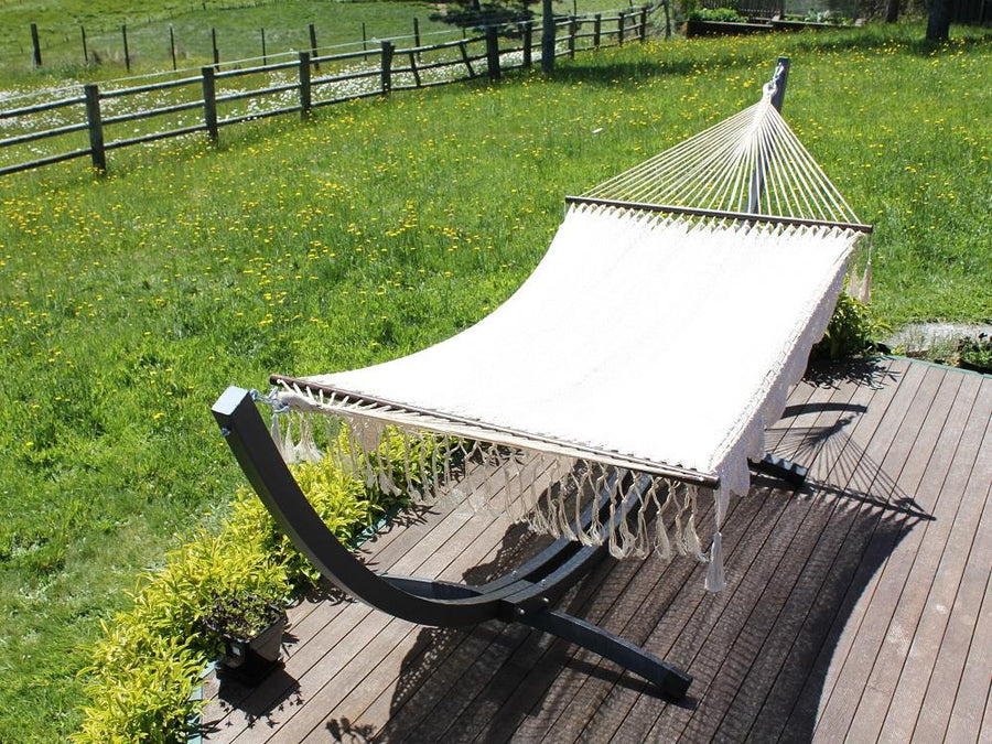 Outdoor hammock stand