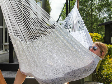 Mexican Handmade Polyester Thick Cord Hammock