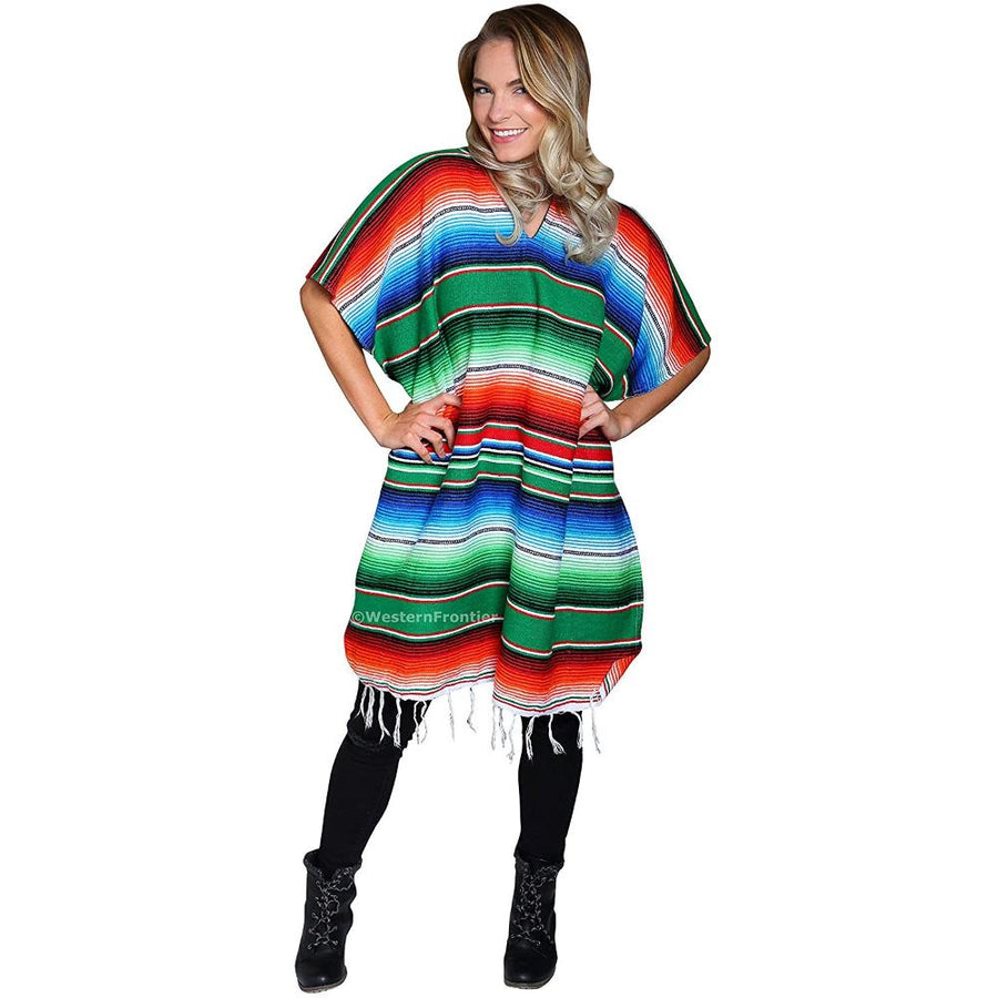 Mexican Fiesta Poncho