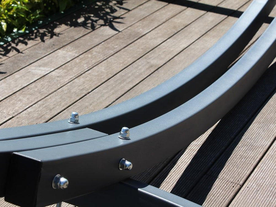 Rectangular thick steel hammock frame