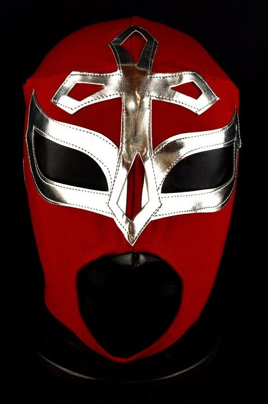 Mexican Wrestler - Elegido - Red Mask
