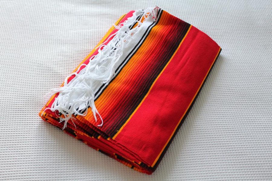 Mexican Red Rug