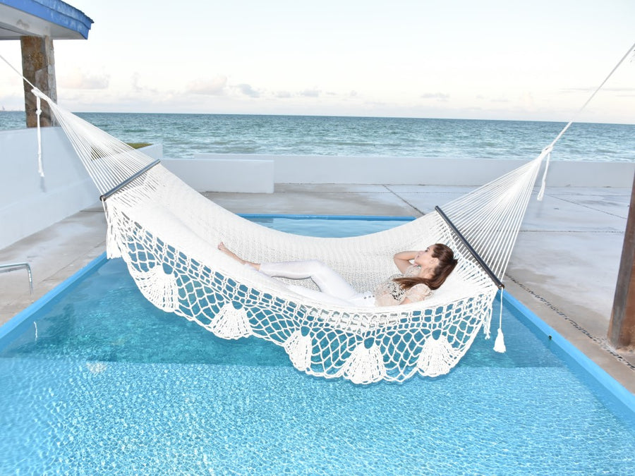 White Pool Hammock