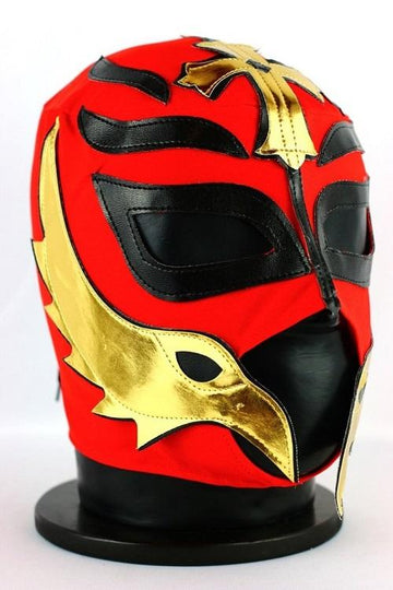 Rey Mysterio Red and Black Mexican Wrestling Mask