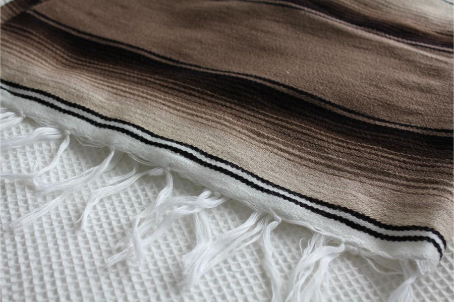 Sarape Blanket Material and Fringe