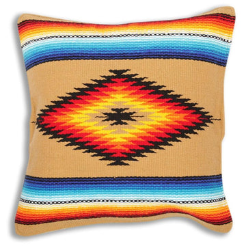 Mexican Pillow Covers - Serape Design