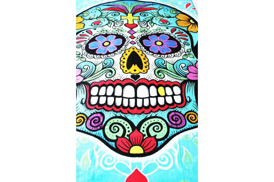 Skull towel - Day of the Dead Theme