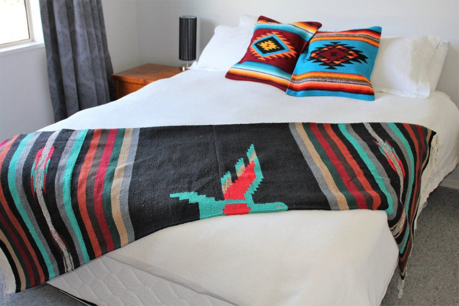 Mexican Thunderbird Center Pattern Blanket