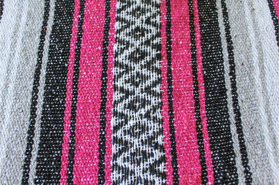 Close up Mexican blanket material
