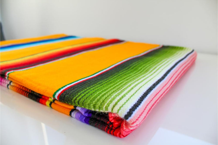 Serape Blanket - Authentic Mexican Blanket