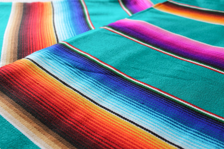Colourful Mexican Blanket