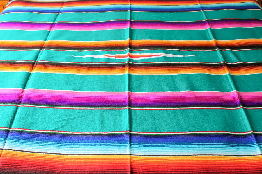 Sarape Diamond Centre Mexican Blanket NZ