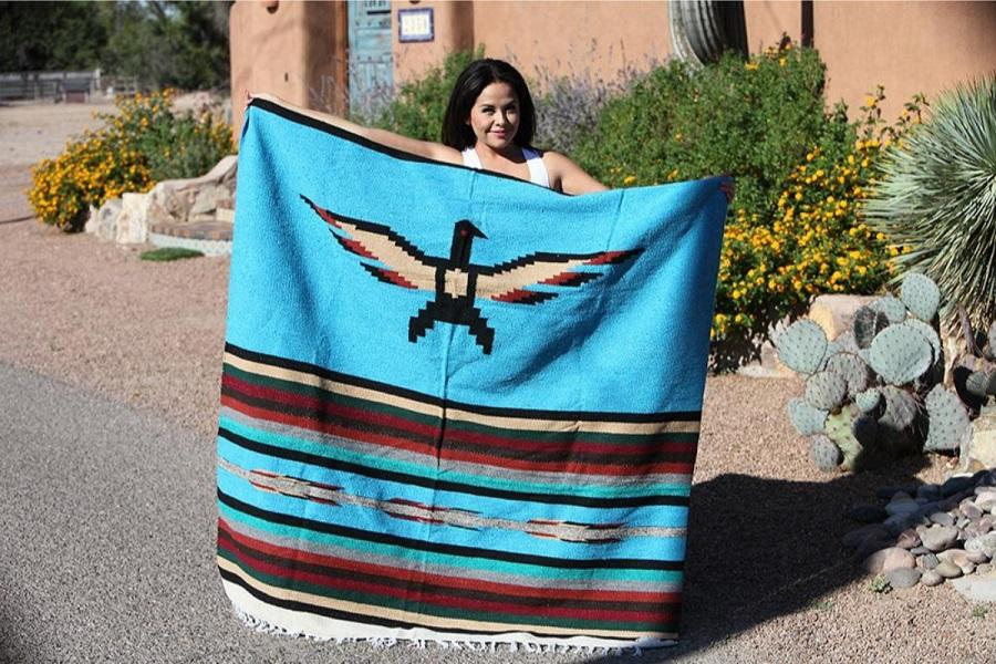 Mexican Blanket - Thunderbird Design