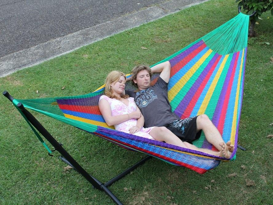Queen sized Mexican hammock