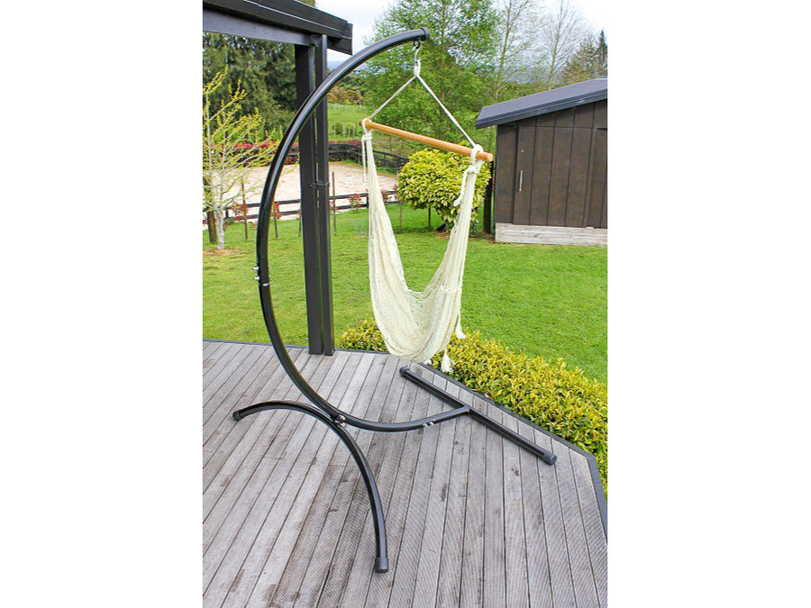 Mexican chair hammock and stand