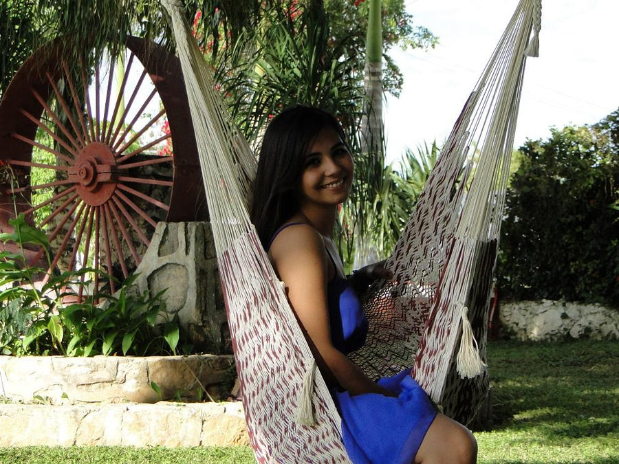 Chair hammock, handmade in Mexico
