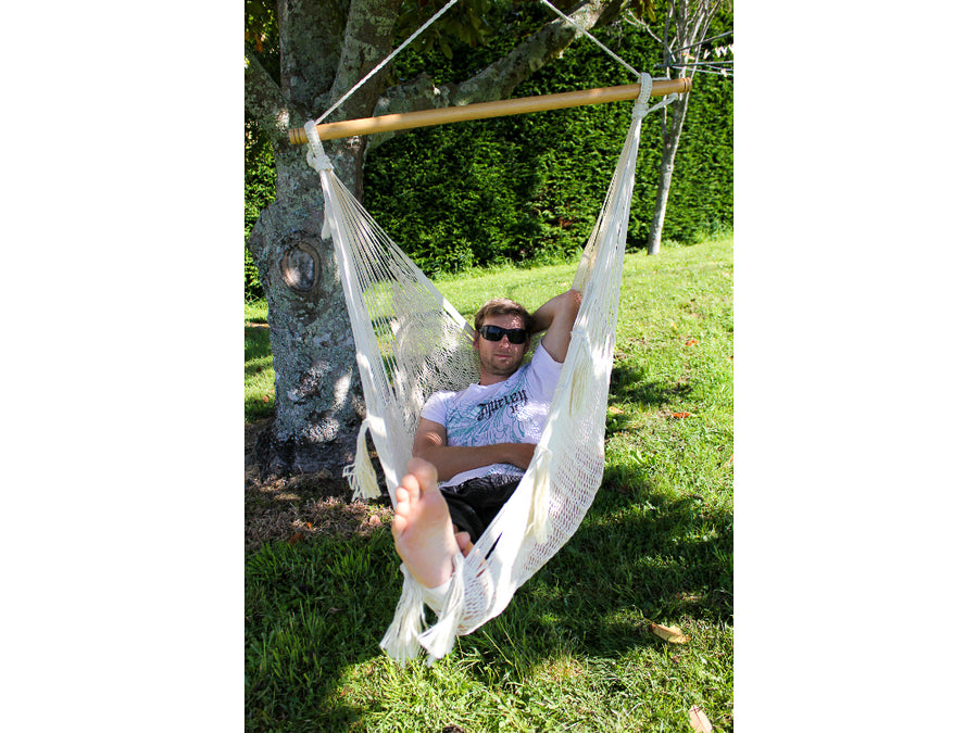 White Hammock Hanging Chair NZ