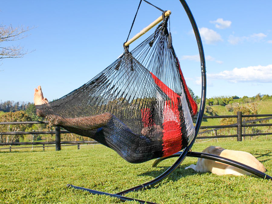 Mexican Chair Hammock - Modern - Cotton Woven