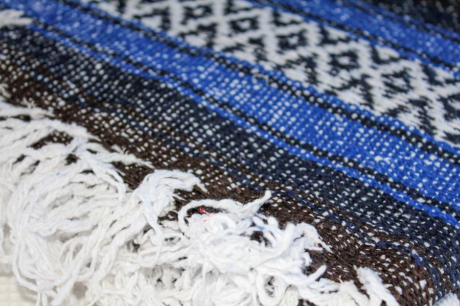 Fringed Blanket - Mexican