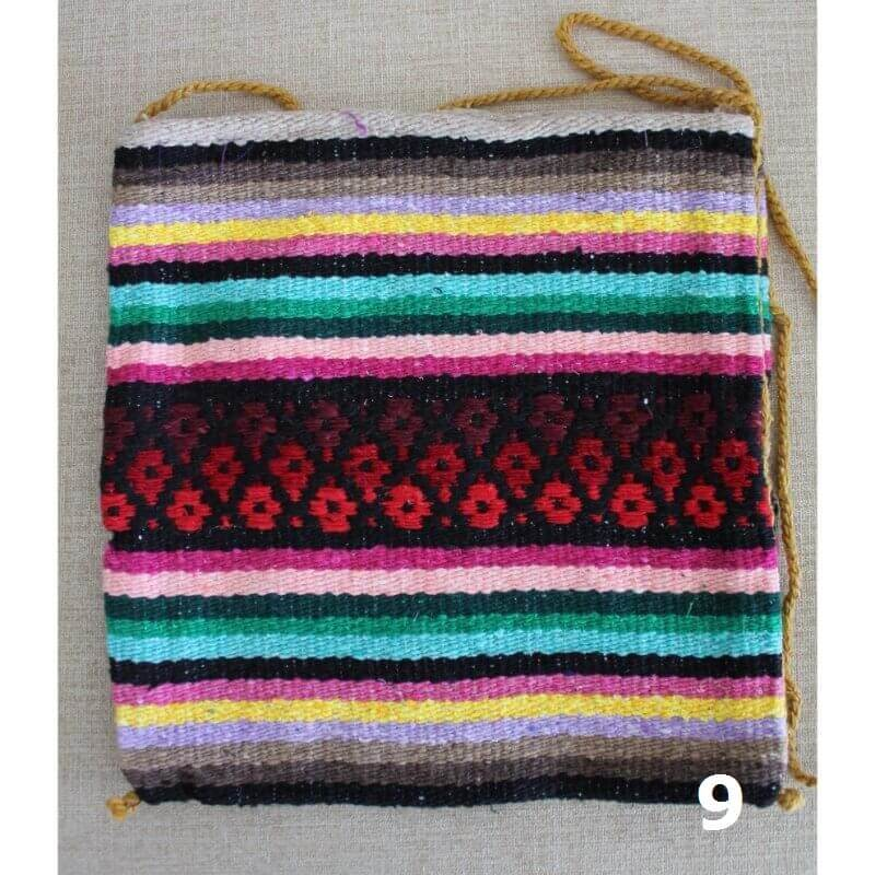 Mexican fabric bag in bright colours