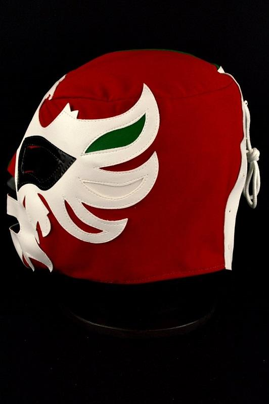 Mexican flag coloured wrestling mask