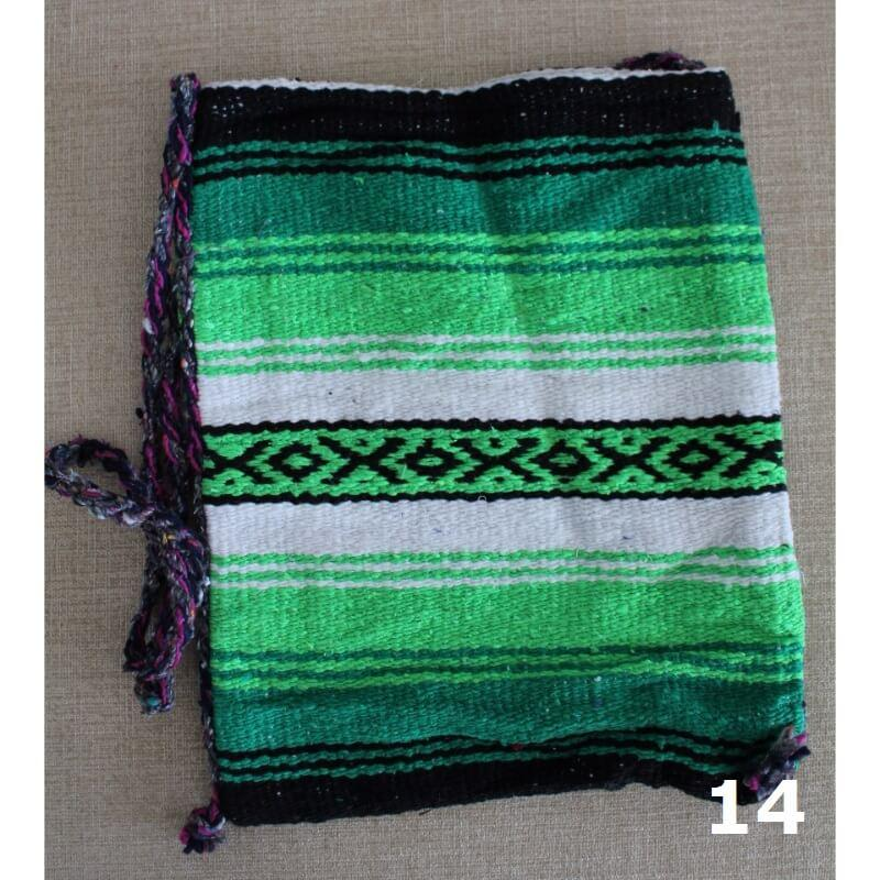 Mexican Santa Fe Striped Shoulder Bag