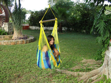 Mexican Chair Hammock - Tropical