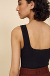 The Hip To Be Square Tank in Black