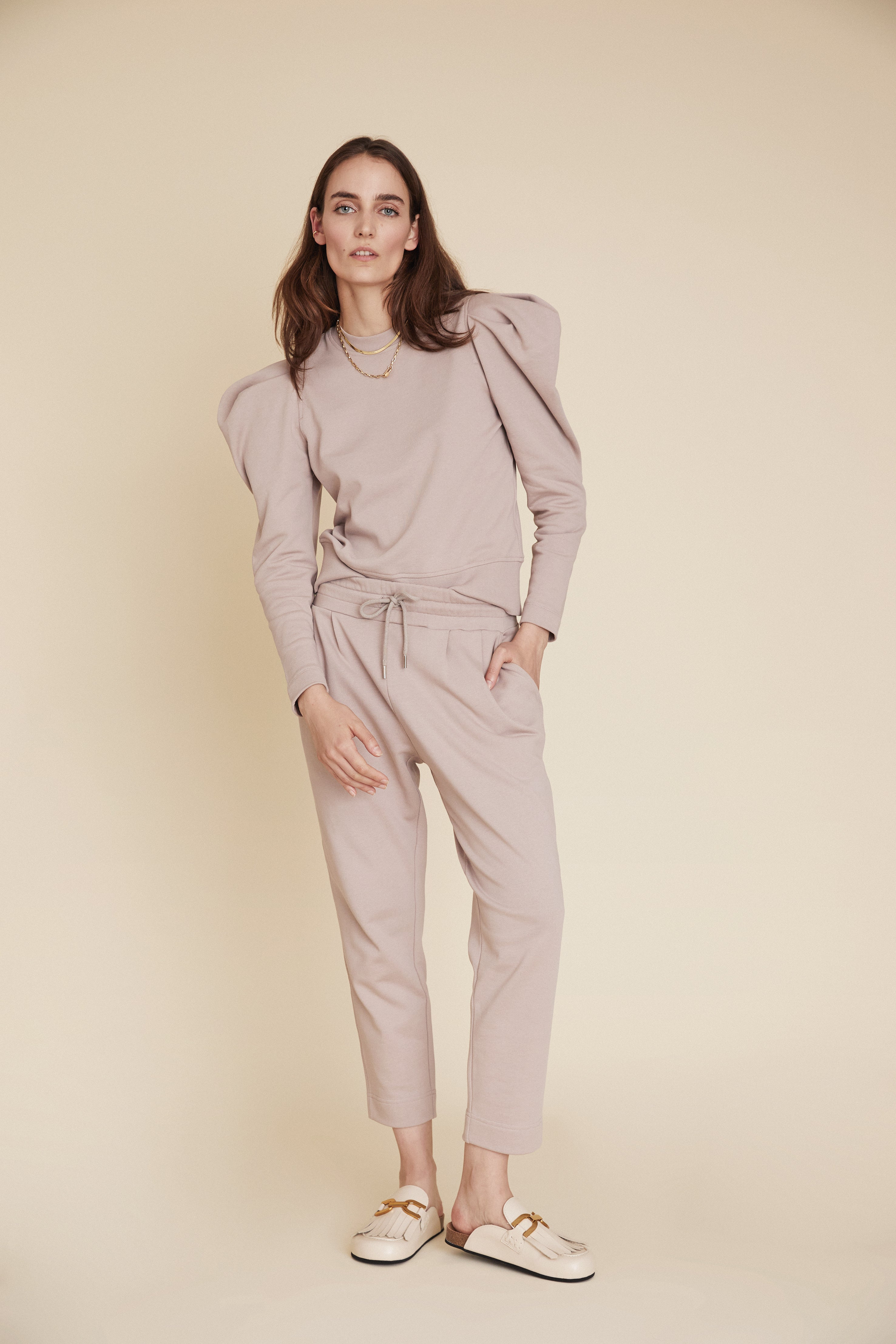 The Perfect Peg Pant in Stone
