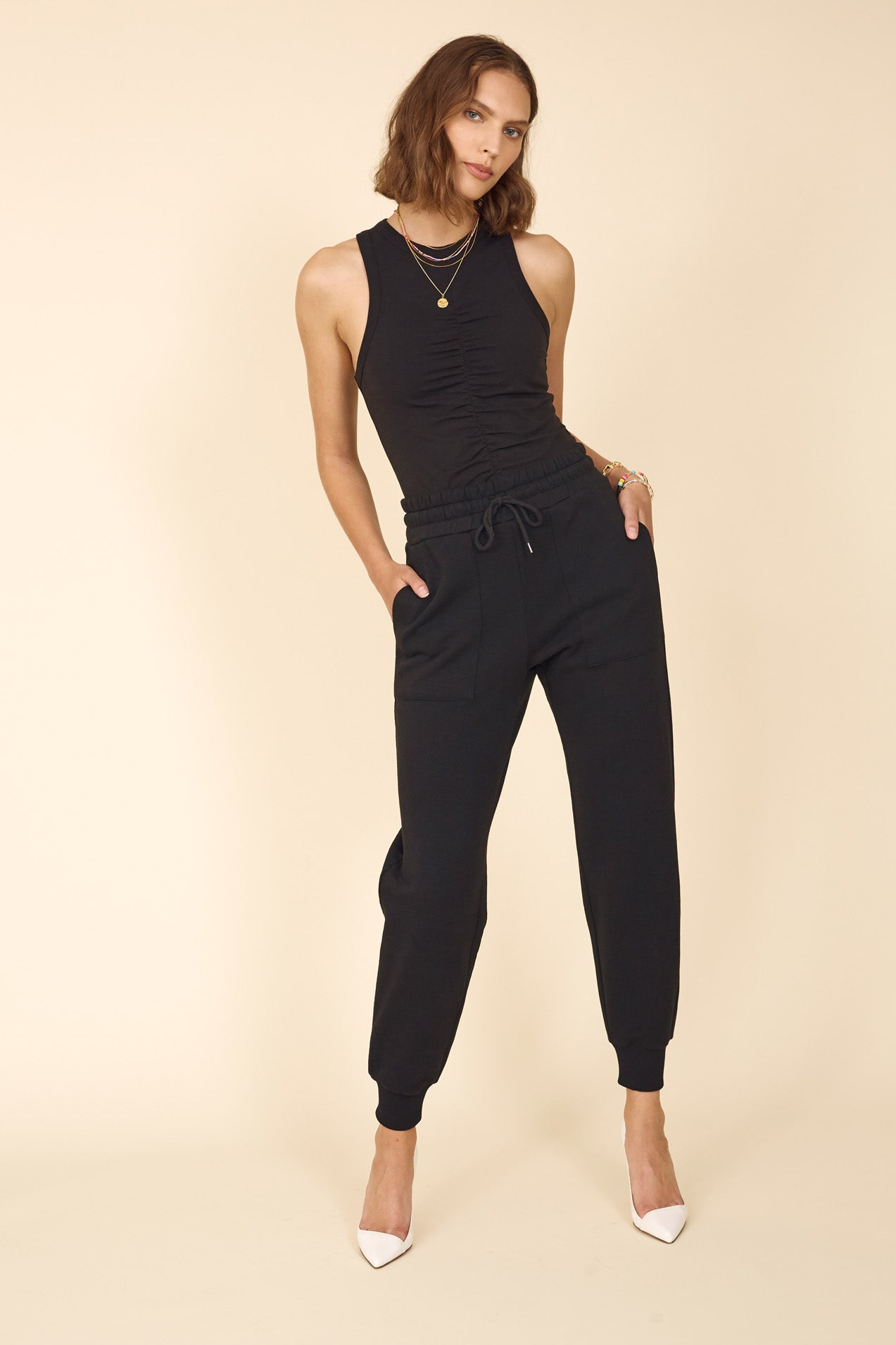 The Essential Jogger in Black