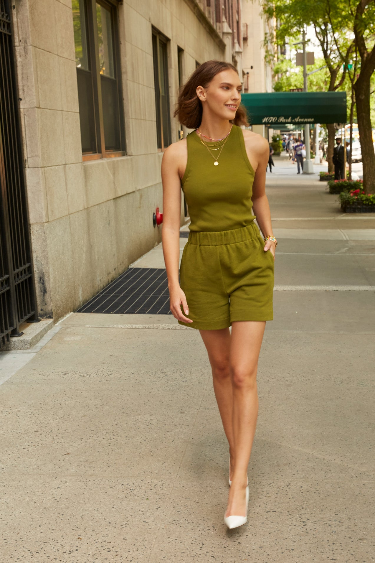 The Essential Short in Martini Olive