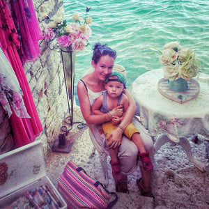 "Reiseinterview mit Singlemama Nathalie von ""mom and A half man"""