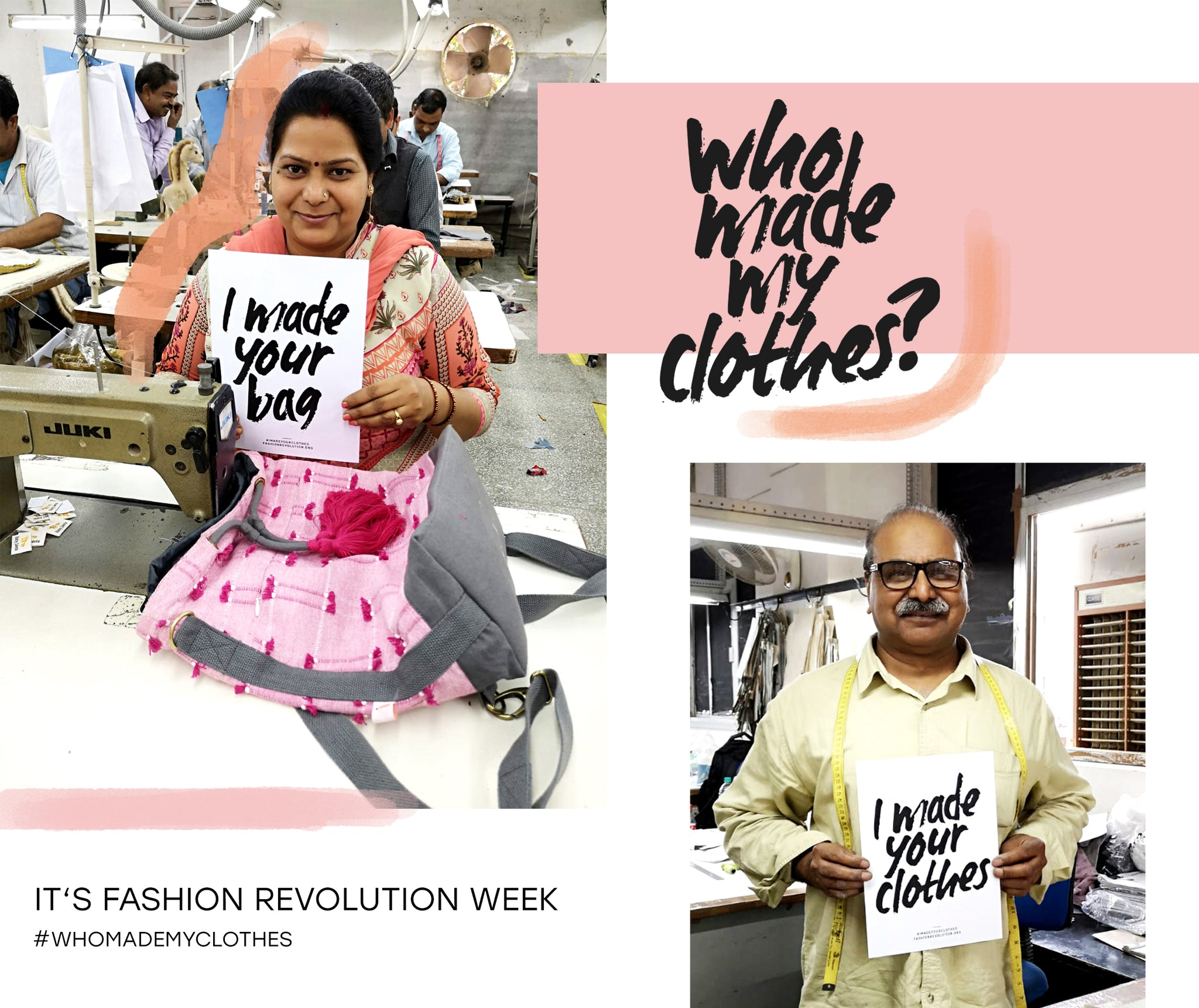 Fashion Revolution Week 2019 - Who made my clothes
