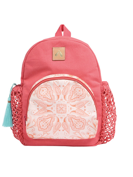 Kinderrucksack von mara mea *magic mandala* in hell rot
